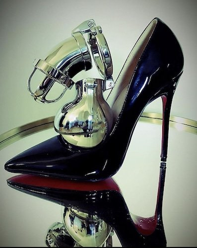 Keuschheitskäfig Heigh Heel