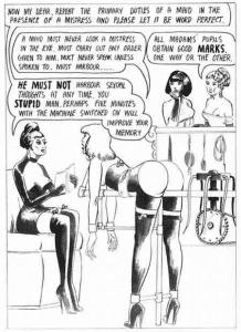 Femdom Comic