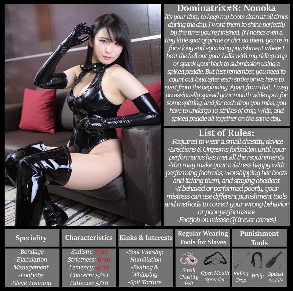 Asian Mistress