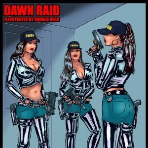 Femdom Comic Dawn Raid